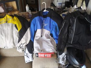 MOTO JACKETS for Sale in Rio Linda, CA