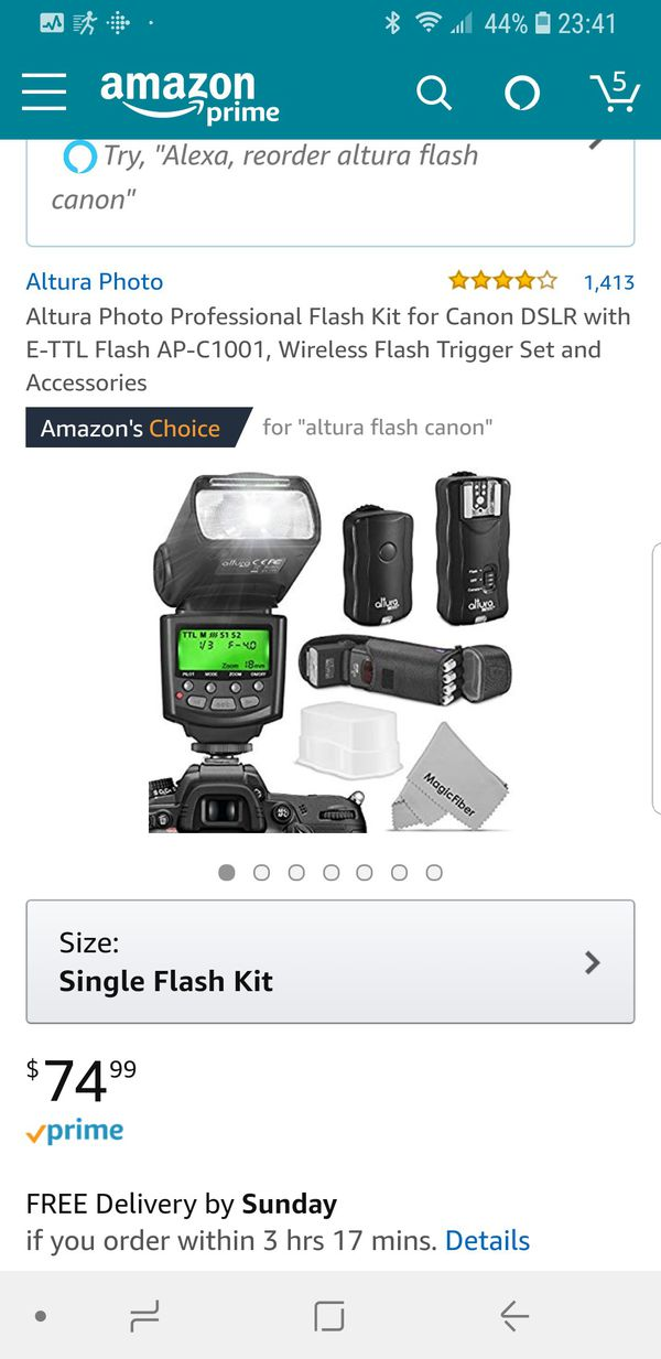Camera Flash For Sale In Pembroke Pines Fl Offerup