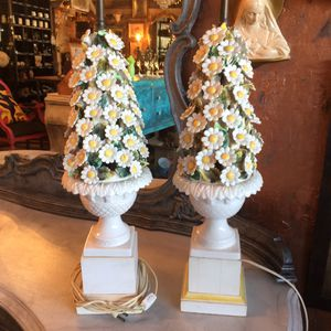 Vintage Mid Century Daisy Lamps for Sale in Stuart, FL