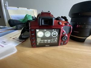 Nikon D3400 w/ lenses & accessories. for Sale in Denver, CO
