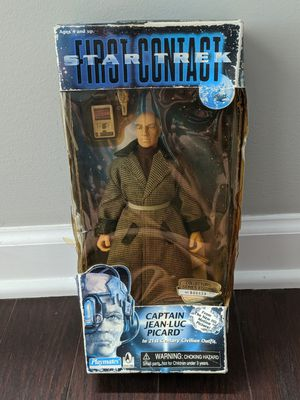 Star Trek First Contact Captain Jean-Luc Picard Action Figure New In Box for Sale in Raleigh, NC