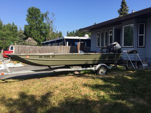 16' Lund with motors for Sale in Anchorage, AK