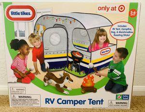 Little Tikes RV Camper Tent / Age 3-6 for Sale in Sun City, AZ