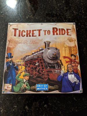 Ticket to Ride board game for Sale in Concord, NC