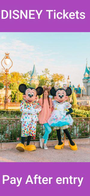 Disney Tickets for Sale in Lake Buena Vista, FL