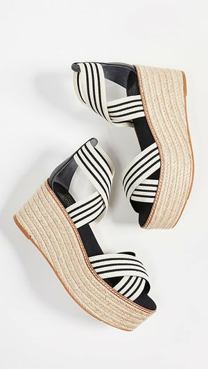 Tory Burch Espadrille Sandal size 8 for Sale in Chantilly, VA
