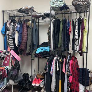 Metal Standing Wardrobe for Sale in Milwaukie, OR