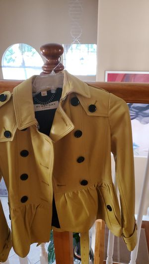 Authentic Burberry leather jacket for Sale in Boynton Beach, FL