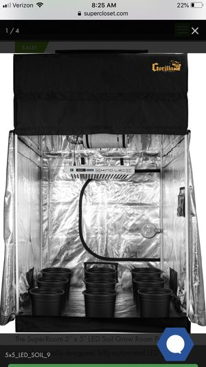5x5 super room grow tent for Sale in Portland, OR