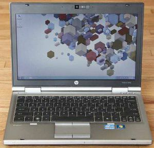 "HP EliteBook 12.5"" 2560p NoteBook Core i5 2.6ghz 4gb ram 320gb HD Win 7 for Sale in Naperville, IL"