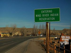Indian Reservation signs for Sale in Lander, WY