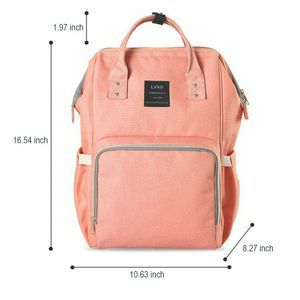 Peach Diaper Bag With Cell Phone Pocket for Sale in San Bernardino, CA