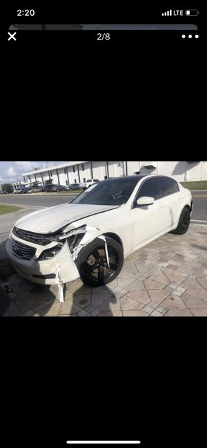 Infiniti G25 G37 G35 for part out for Sale in FL, US