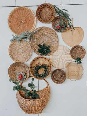Rattan Basket wall for Sale in Whittier, CA