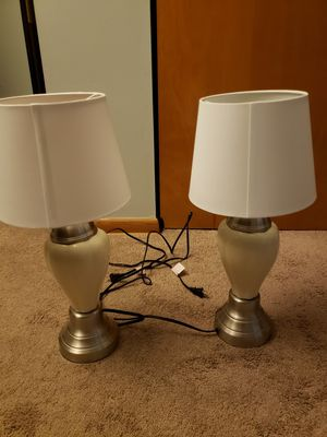 2 lamps lights for Sale in Columbus, OH