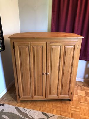 Entertainment cabinet for Sale in Franklin, NC