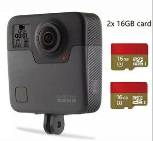 Refurbished GoPro Fusion 360 Degree Digital VR 5.2K HD Action Camera 2x 16G card for Sale in Sugar Land, TX