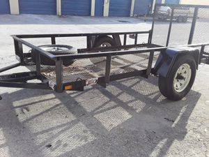 Utility tráiler 5x10 for Sale in Fort Lauderdale, FL