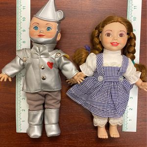 Vintage Dorothy and Tin Man Doll for Sale in Montclair, CA