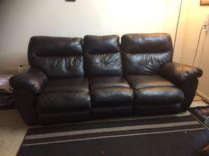 Recliner leather sofa for Sale in Atlanta, GA