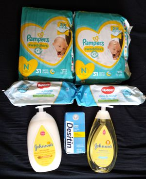 Pampers newborn wipes bundle for Sale in Philadelphia, PA