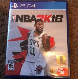 NBA 2K18 Ps4 for Sale in Modesto, CA