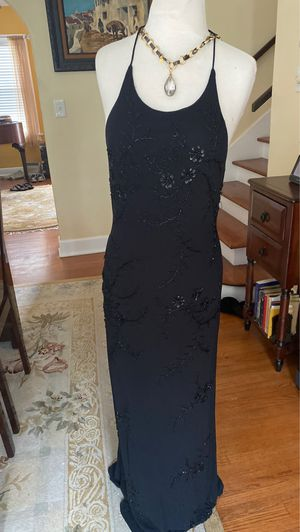 Stenay Black designer size small fillets cocktail dress backless for Sale in Riviera Beach, FL
