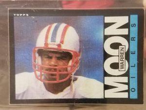 1985 Topps Warren Moon rookie card for Sale in Fort Lauderdale, FL