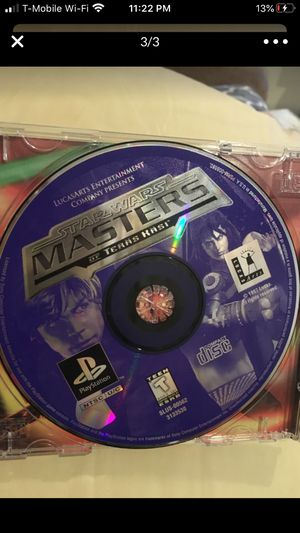 Star Wars masters play station game for Sale in Norwalk, CA