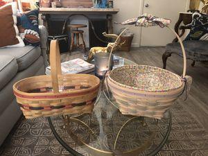 Longaberger Easter Baskets for Sale in Phoenix, AZ