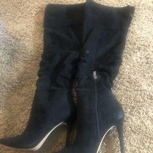 Jessica Simpson Size 7 Black heel Boots for Sale in Nashville, TN