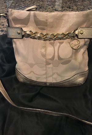 Authentic coach messenger bag for Sale in Dearborn, MI