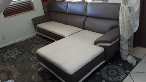 LIVING ROOM LEATHER MODERN. DELIVERY FREE for Sale in Hollywood, FL