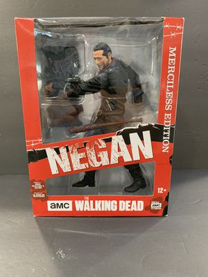 "McFarlane Toys Walking Dead Negan Merciless Edition 10"" Deluxe Figure for Sale in El Monte, CA"