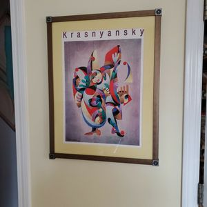 Krasnyansky Print with Frame for Sale in New Fairfield, CT
