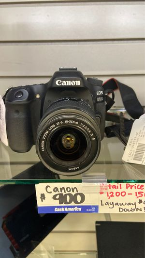 Canon camera fcp2205 for Sale in Houston, TX