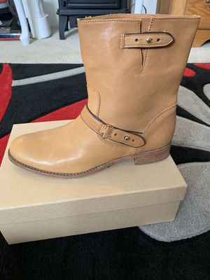 Botas coach size 9 women for Sale in Riverside, CA