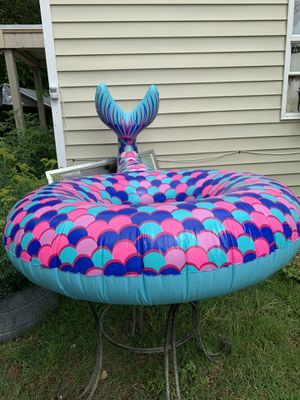 Mermaid tail pool float for Sale in Raleigh, NC
