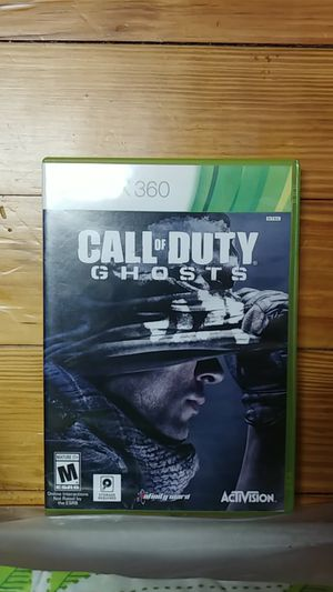 CallofDuty GHOSTS xbox360 for Sale in Douglas, GA