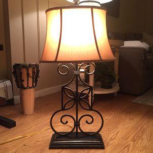 Metal lamp for Sale in Denver, CO