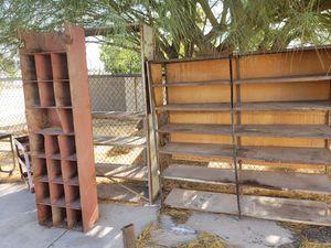 Metal shelves 4 wheel dolly for Sale in Phoenix, AZ