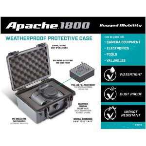 Apache 1800  Waterproof case new for Sale in Chelsea, MA