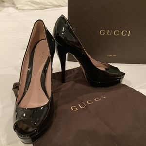 Gucci Black Heel Size 38 for Sale in Chicago, IL
