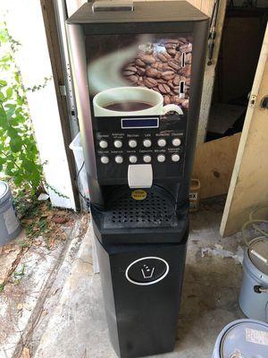 Coffee vending machine espresso, hot cocoa latte , cappuccino model for Sale in Houston, TX