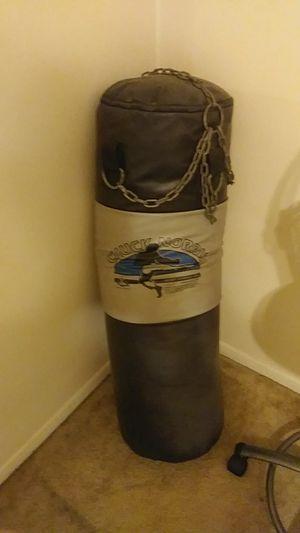 Chuck Norris punching bag for Sale in BELLEAIR BLF, FL