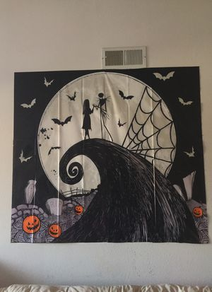 The nightmare before Christmas jack skeleton backwall New for Sale in Carlsbad, CA