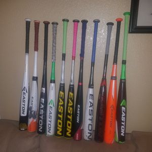 EASTON BBCOR BATS for Sale in Victorville, CA