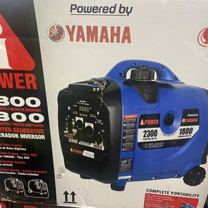 Brand New Yamaha 2300 watts Inverter Generator Untra Quite Only Asking $550 for Sale in La Habra Heights, CA