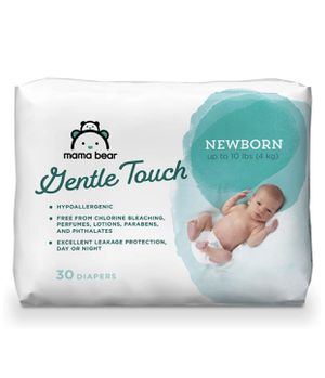 Mama Bear Gentle Touch Diapers, Hypoallergenic, Newborn, 120 diapers for Sale in Moreno Valley, CA