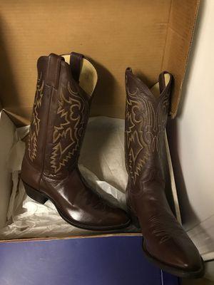 NIB-Justin size 10D cowboy boots for Sale in Lynnwood, WA